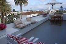 terrace - downtown view