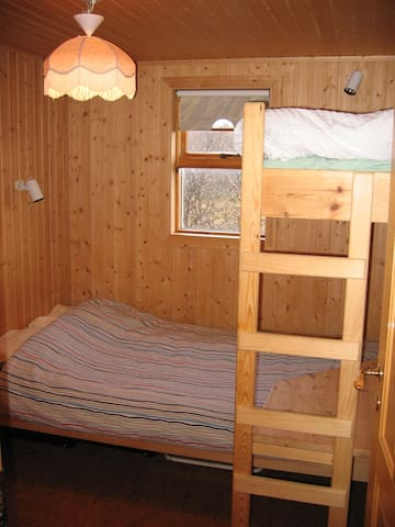 Bedroom 2 with Double and Bunk