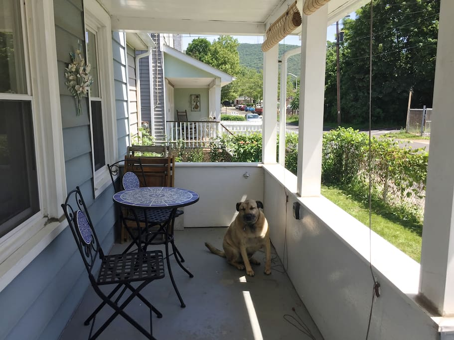 My favorite spot is the Front Porch!!