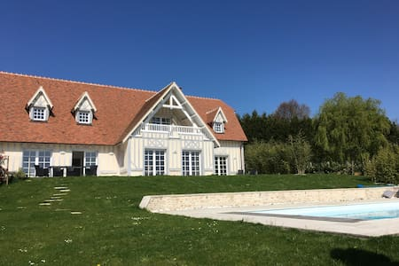 Villa Gaia - Grand Standing - Piscine chauffée - Houlgate - 別荘