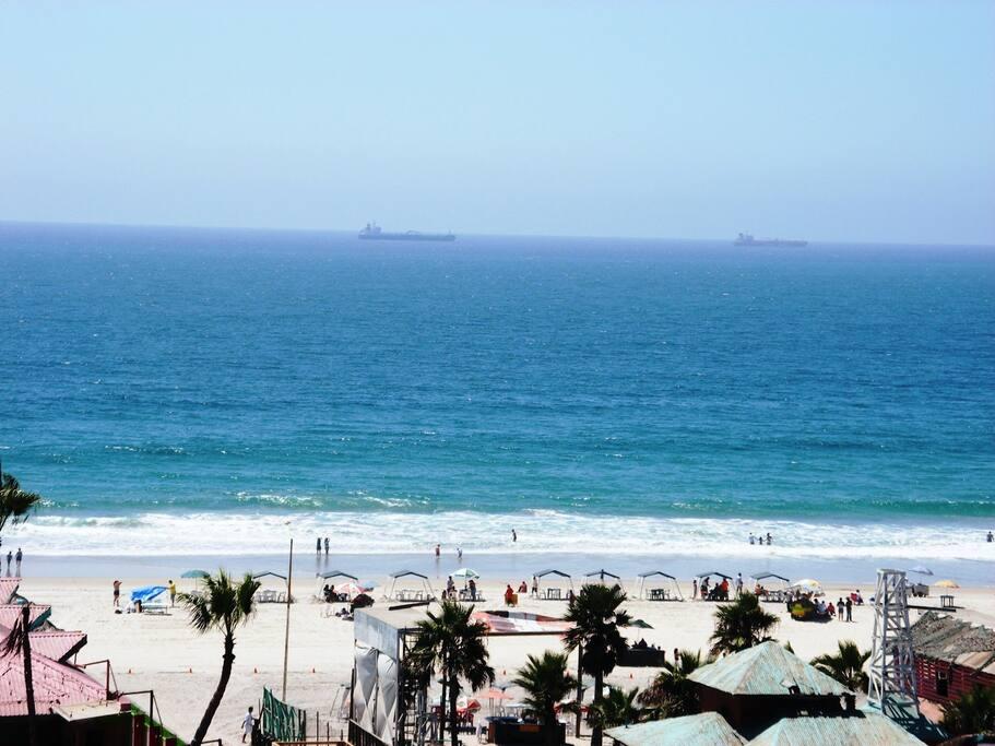 WIDE SAFE CLEAN SANDY BEACH