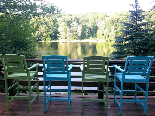 Year round waterfront cottage - Torrington