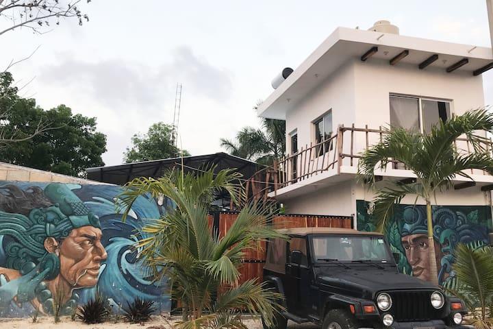 Room 1 Hotelito Itzaes Bacalar