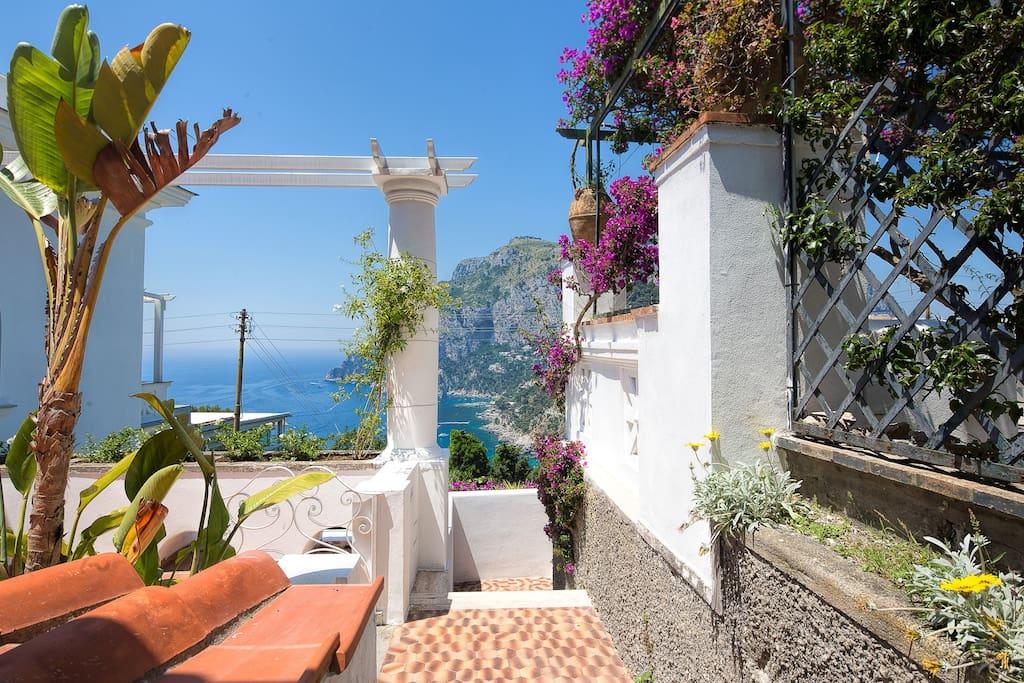 Villa mariuccia appartamento bea j apartments for rent for Villas in capri