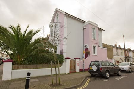 Character Victorian House Room 2 dble/twin-parking - Portsmouth - Bed & Breakfast