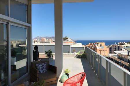 Sunny penthouse by the sea - La Vila Joiosa - 公寓