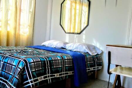 habitacion confortable con aire acondicionado