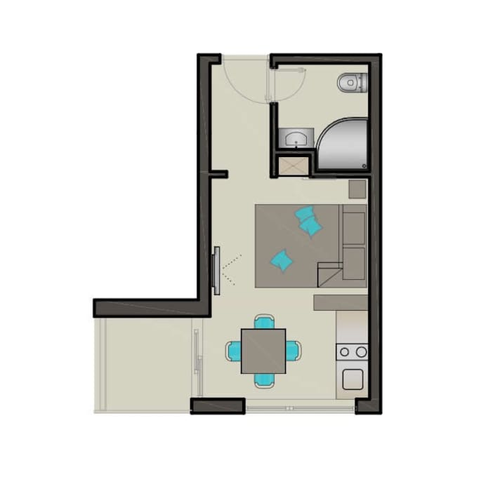 Apartment #1 and 4