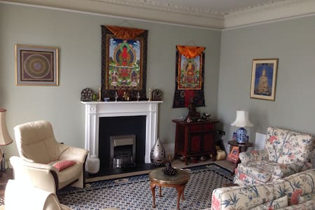Mayfair Apartment in C18th Mansion. - Shrewsbury
