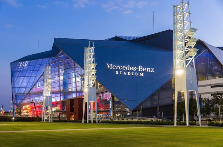Atlanta Luxury Apartment Near M-Benz Stadium