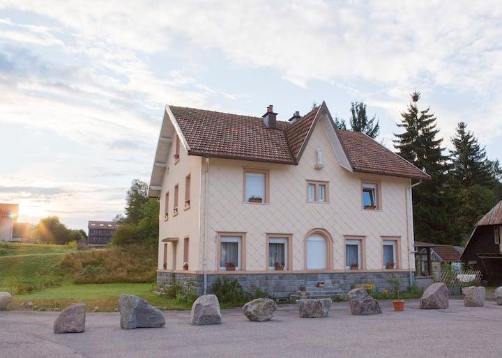 Das alte Pfarrhaus von Xonrupt