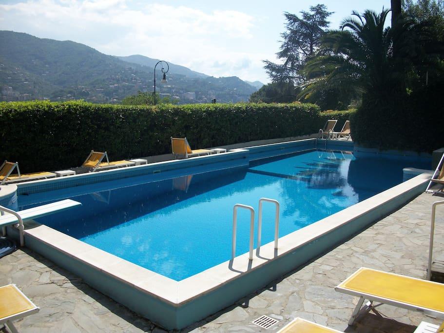 Casa vista mare con piscina wi fi e parcheggio - Piscina da balcone ...
