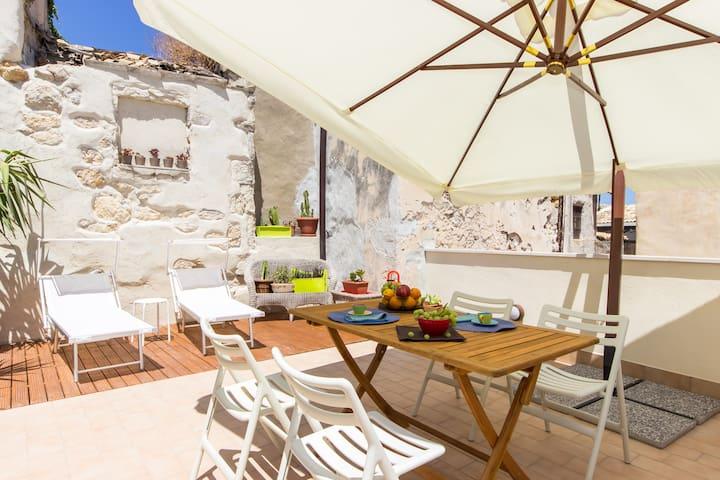 casettealsud ortigia loft terrazza - Syrakuzy - Apartament