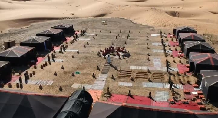 Borj Merzouga luxury camp