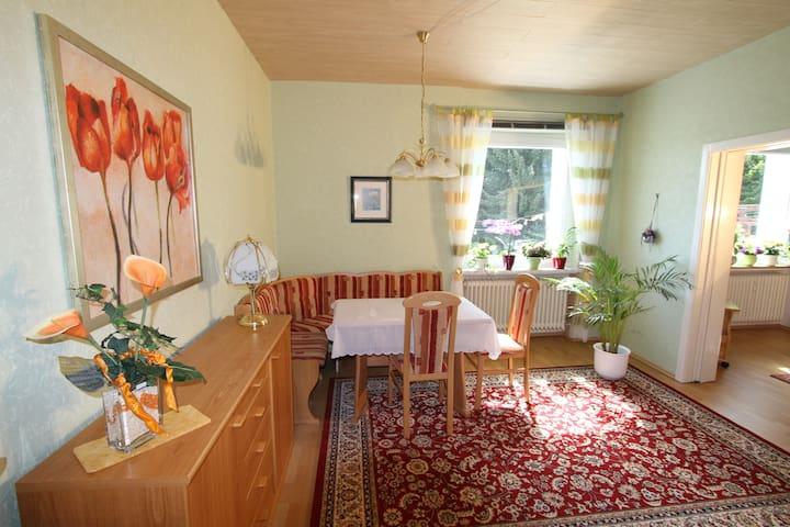 Ferienwohnung für 2-6 Personen - Trendelburg - Apartamento
