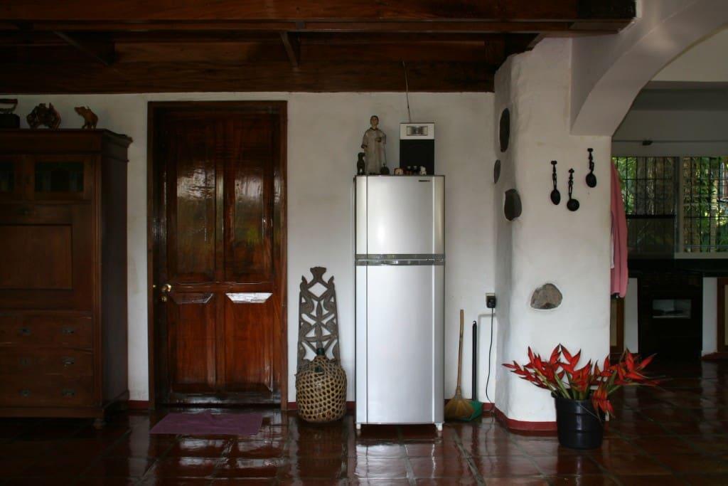 Guestroom entrance