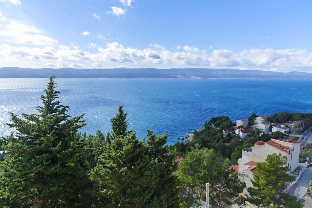 Sea view from loggia