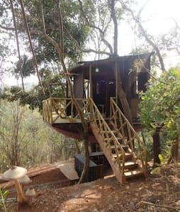 Unique Treehouse with a superb view - Pomburpa