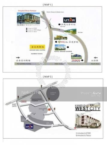 Kampus West City Apartment - Kampar - Wohnung