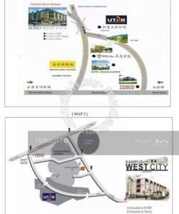 Kampus West City Apartment - Kampar - Wohnung