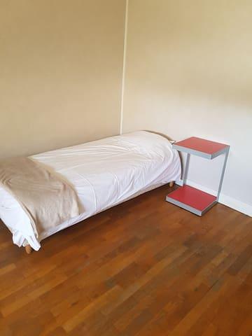 Chambre privée tranquille