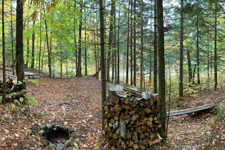 Site de camping #1 (toilette sèche) / sur 9M pi2
