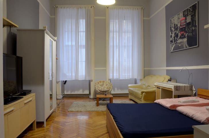 BIG APARTMENT IN THE CITY CENTRE - Boedapest - Appartement