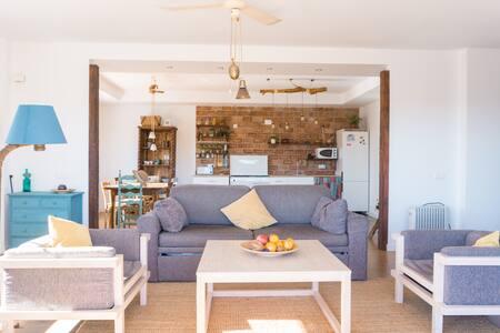 Preciosa casa de campo con vistas al mediterráneo. - Málaga