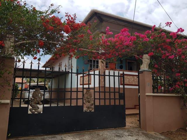 Entrance Main House
