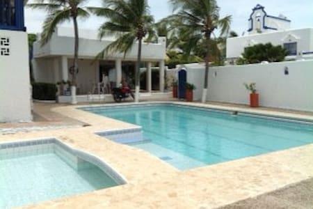 Seaside Villa with ocean views - Tubará