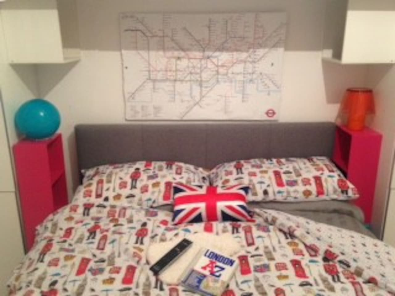 Plot your next day's travel and sightseeing from Bed HQ
