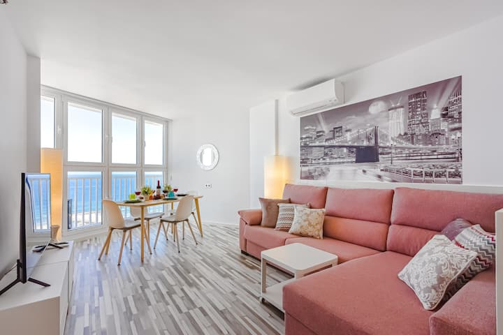 Oceanfront apartments with panoramic views