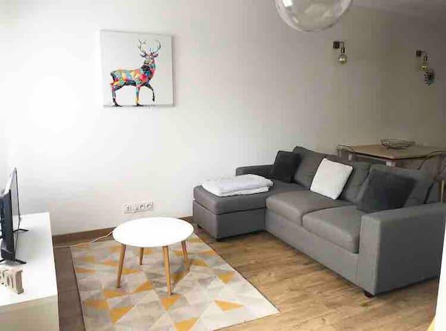 Bel appartement à Bastia avec parking privé