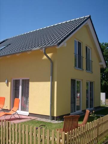 4-Sterne-Ferienhaus auf Usedom, Ostsee