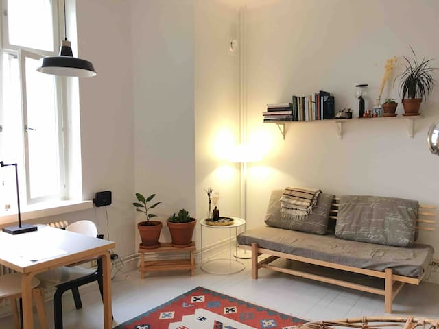 Cosy base in the heart of Kallio district.