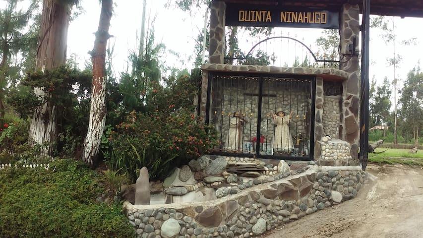 Quinta NinaHugo, para disfrutar de la naturaleza.