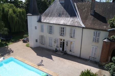 Bourgogne : votre Château Geek à Seurre - Seurre - Castillo