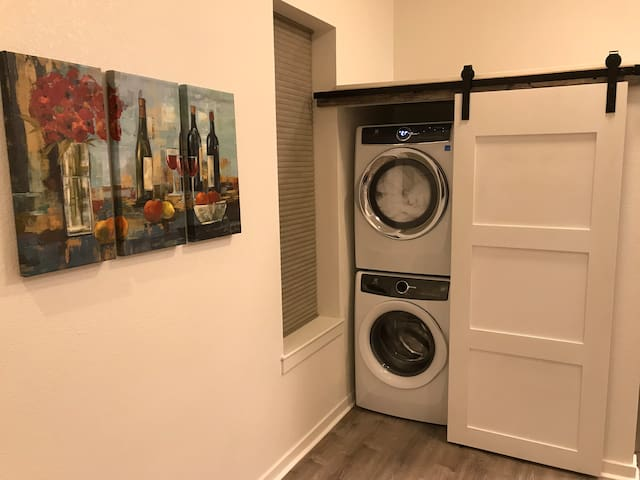Washer and dryer in case you need it