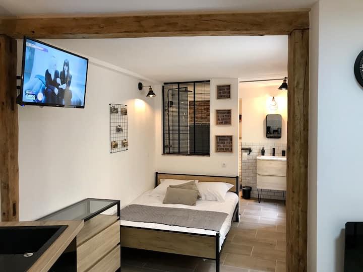 Studio *Le Musoir*avec terrasse privée rdc 4