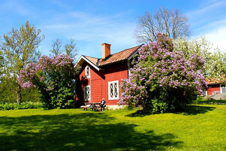 House next to Tyresö palace by the ocean 12 beds!