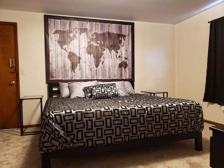 affordable,  comfortable,  king sized bed