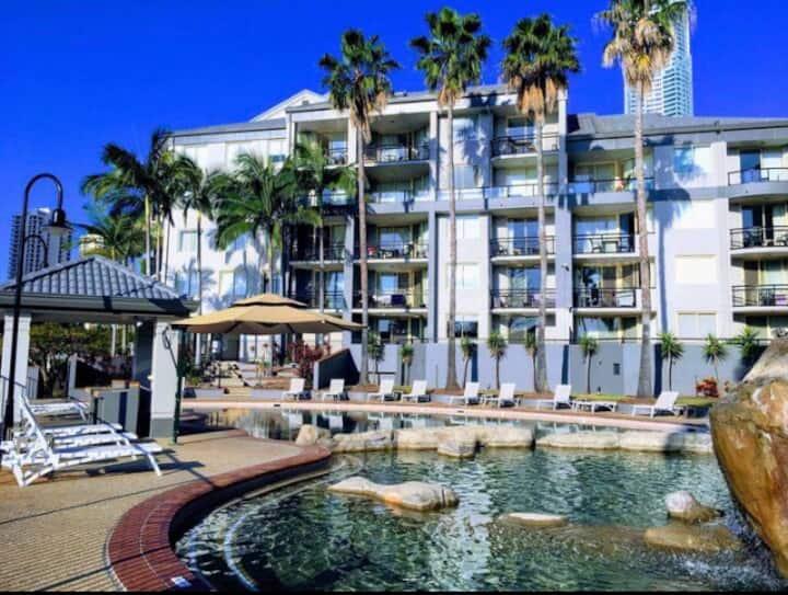The resort life Paradise Island Gold Coast.