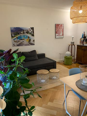Superb 3BR flat in trendy Lausanne sous-gare