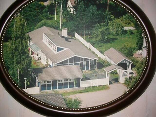 Erikoinen, iso ja ihana talo,  Forssa