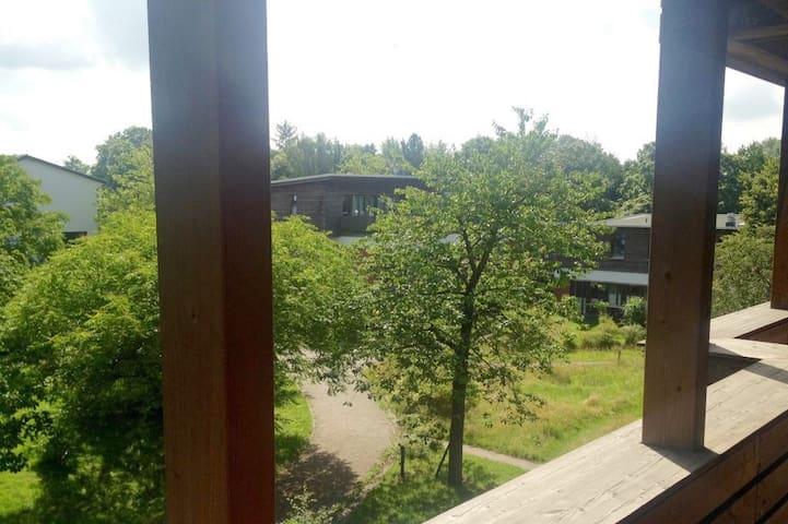 Wohnen im Ökodorf Allmende am grünen Rand Hamburgs - Ahrensburg - Leilighet