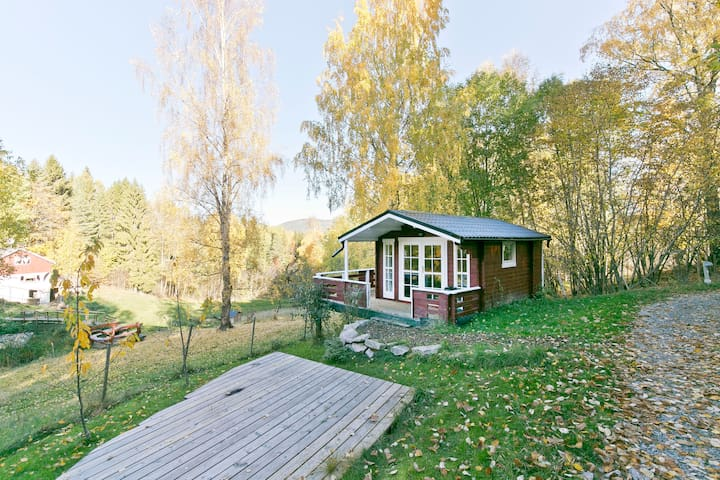 Cozy cottage nearby the historic Telemark Canal