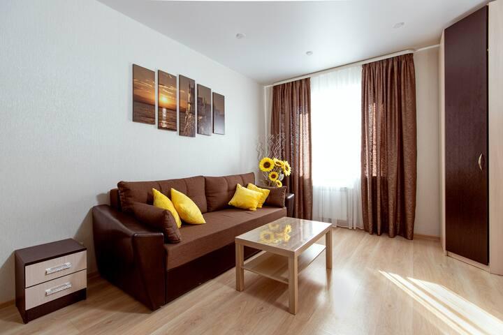 «ПодСолнечная» квартира для душевного отдыха