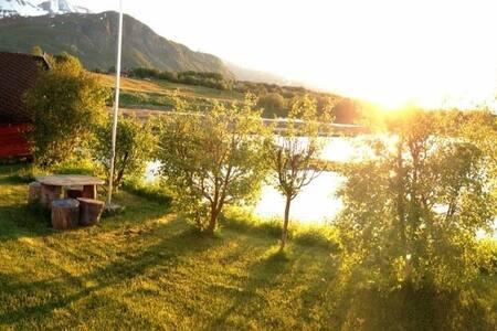 Flott hus i landlige omgivelser - 灵塞德 (Lyngseidet) - 独立屋