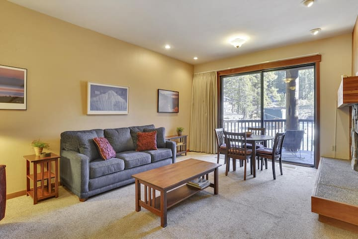 Alpine Meadows River View Condo