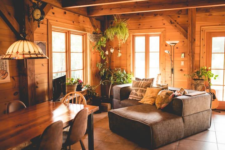 Maison Mississipi: havre de détente en forêt